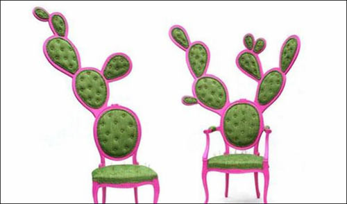 仙人掌椅子-装修网盘点国外奇葩家居用品