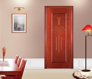 木门分类 实木复合门:1