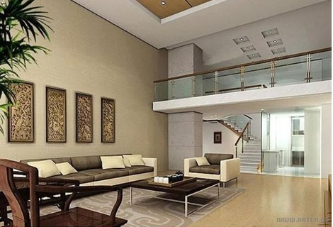 装修知识 住宅室内各功能空间的特性       错层住宅不同于复式或跃层