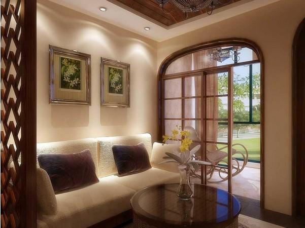木条装饰客厅墙面图片
