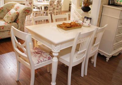 雅菲仕欧式经典餐桌 白色餐桌推荐