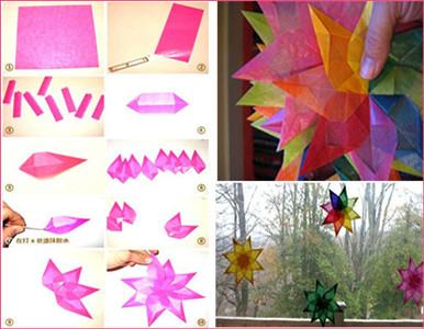 蝴蝶窗花剪窗花的步骤(剪刀法):1.将提供的图纸打印出来.