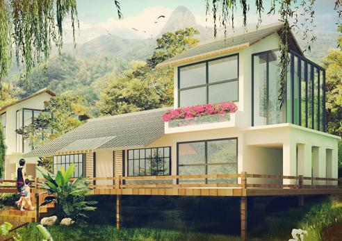 乡村小型别墅设计图
