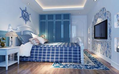 四种不同风格卧室墙纸装修效果图欣赏