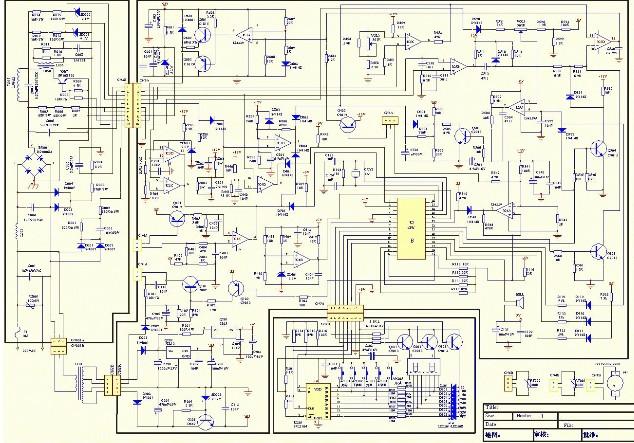 电磁炉工作原理 电磁炉电路图