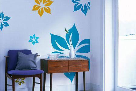 家居diy手绘墙画的方法及步骤
