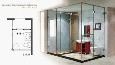 淋浴房最小尺寸(平面型,正方形和圆形,长方形,弧形)