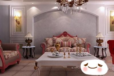 欧式现代论 欧式古典风格客厅装修效果图