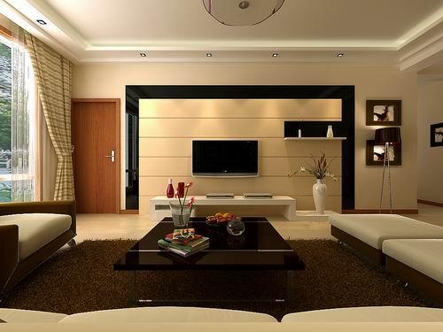 家装电视背景墙风水设计