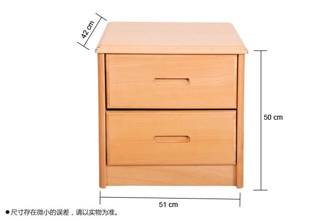 装修知识:常用床头柜尺寸规格图片