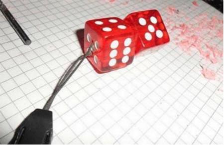 家居diy:趣味骰子的制作方法图解