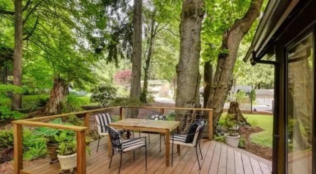 夏日正当时在这样唯美的庭院配件纳凉太舒心了!别墅别墅大门图片