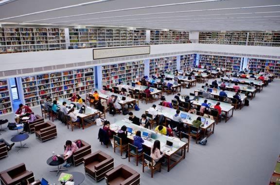 香港中文大学图书馆设计效果图赏析