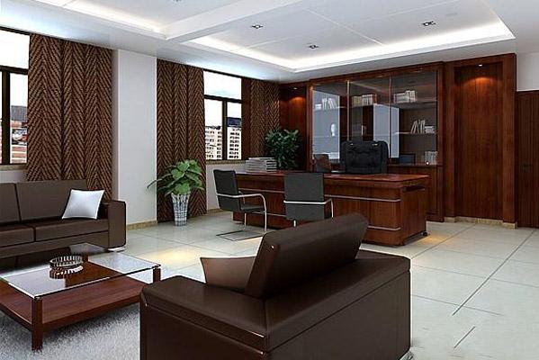 办公室背景墙设计