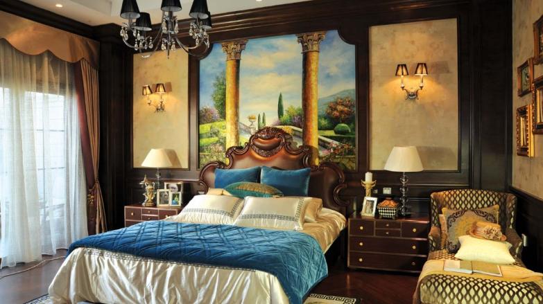 现代房间吊顶设计   欧式风格卧室吊顶效果图