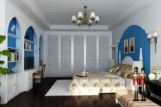 卧室地中海装修风格 别致又优雅