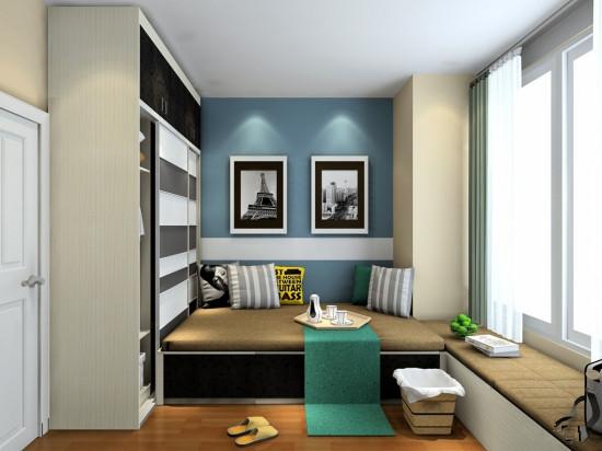 2015炙手可热的小卧室榻榻米设计图片