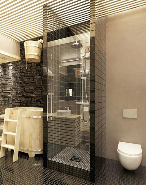 2-5平米小户型卫浴装修设计case1,独立淋浴区