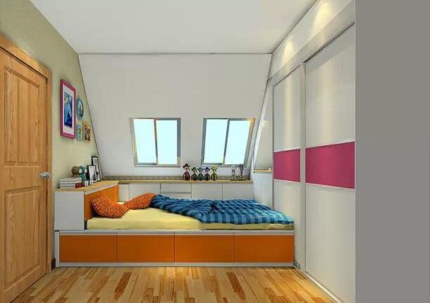 10平米卧室装修 如何设计更诱人?图片