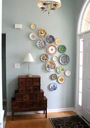 不想贴壁纸,墙面装饰还能弄点啥?
