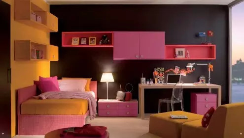 不过离开了校园,不免有些怀念,下面这整体卧室书房设计之学生时代会让图片