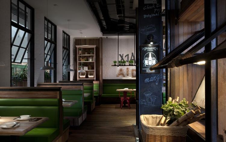 小米主题餐厅装修 小米主题餐厅装修设计效果图