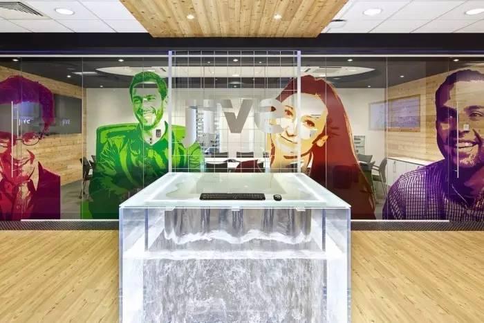 英国Jive软件公司总部办公室 Jive软件公司总部办公室效果图