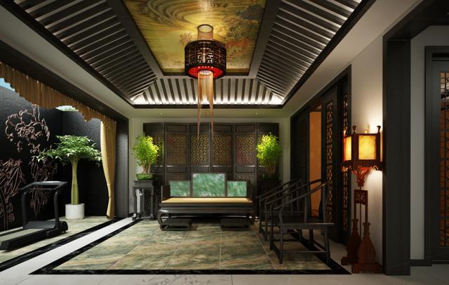 装修保障网 装修学堂 中式风格 500平传统中式风家居设计 禅意韵味