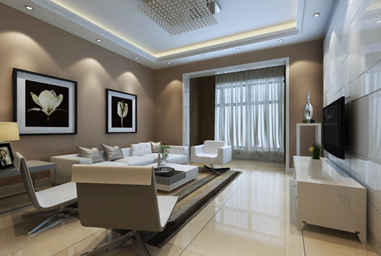 全风格客厅装修设计 客厅实景图图片