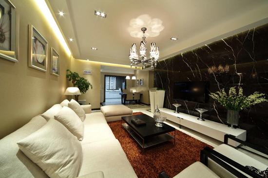 北欧风格客厅装修继承了欧式装修的奢华的大气