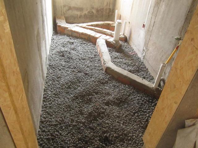 下沉式卫生间回填材料选择 下沉式卫生间装修步骤图片