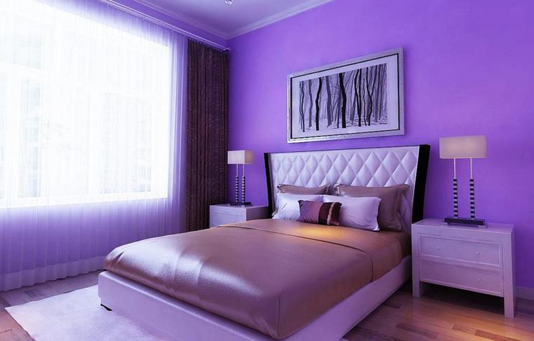 卧室背景墙颜色如何搭配
