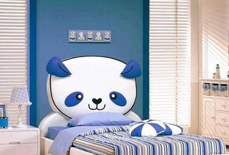 儿童房单人床设计搭配