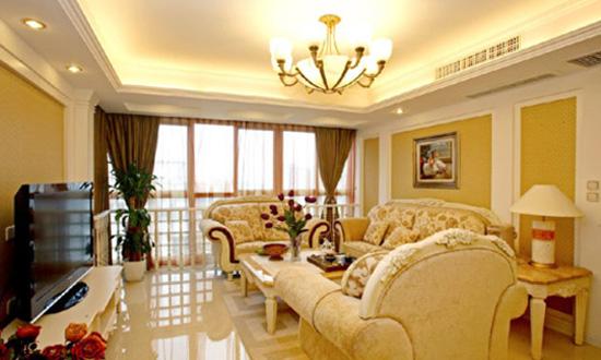 暖色客厅装修设计 暖色客厅装修效果图