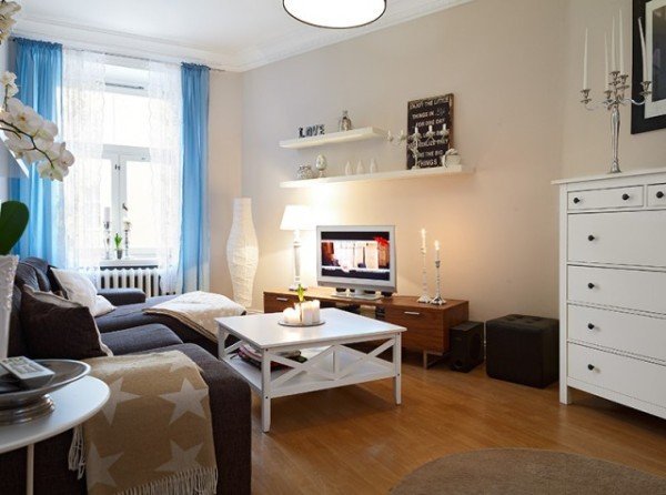 三室一厅小户型装修设计,装出不一样的感觉 !图片