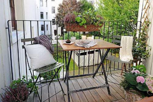 阳台休闲一角装修设计 阳台休闲一角图片
