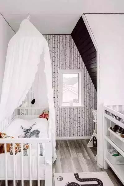 北欧风格儿童房排列五开奖结果 唯有小清新色彩才最可爱