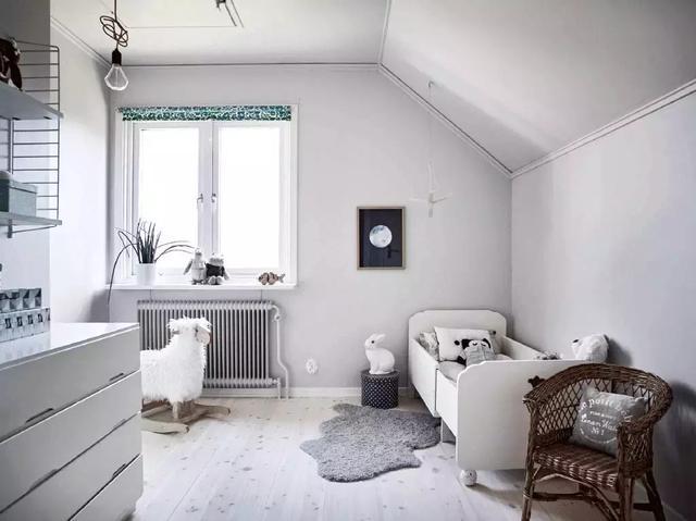 北欧风格儿童房装修