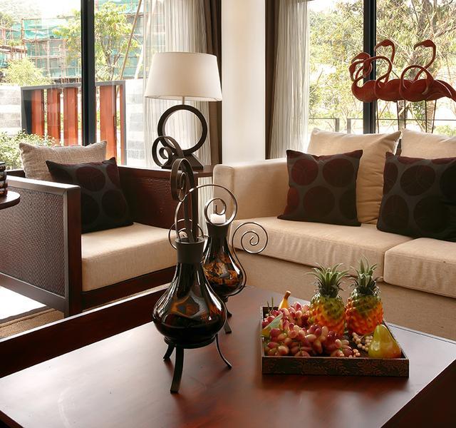 自建豪宅别墅儒雅中式风格装修效果图 示范大美居住文化