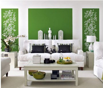 打造清新绿意家装 客厅饭厅装修图