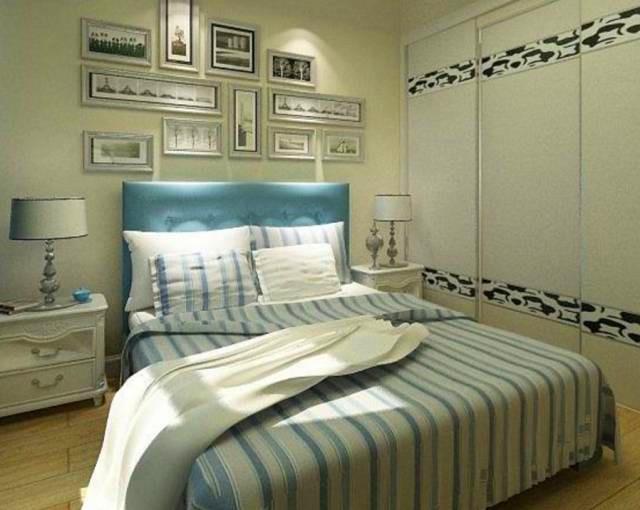 背景墙 床 房间 家居 家具 设计 卧室 卧室装修 现代 装修 640_510