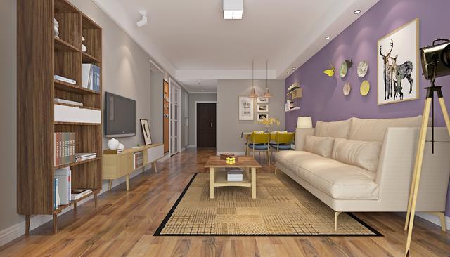 现代北欧风格装修这么美 真想再重新翻新下房屋图片
