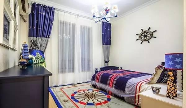 120平地中海风格两居室案例 充满特色的浪漫空间