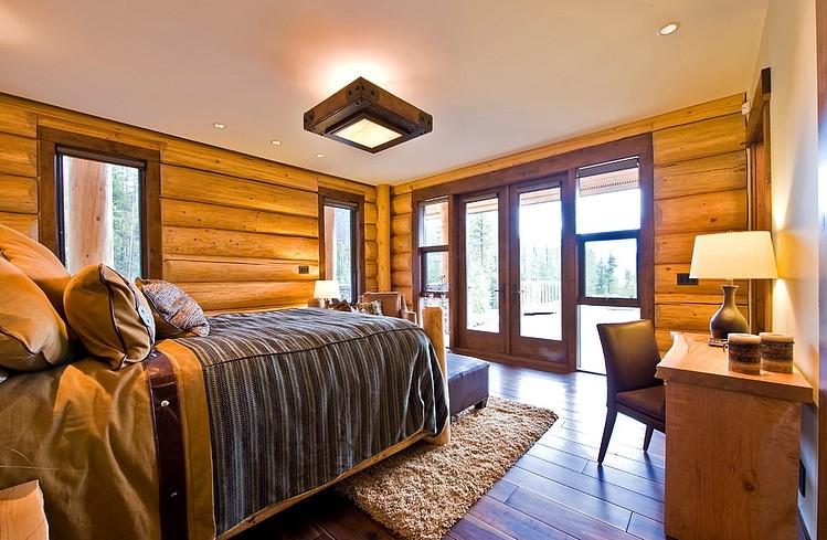 农村木房子卧室装修设计