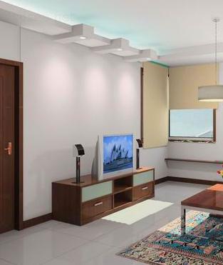 看看这些玻璃电视墙装修效果图 让家更有活力些