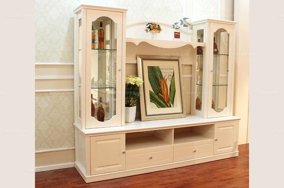 客厅装饰酒柜摆设 客厅酒柜装修效果图图片