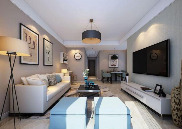 87�O现代简约风格设计 温馨自在简约家居