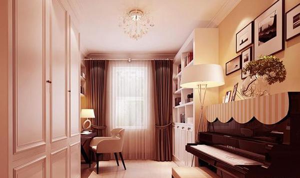 128平简约风格装修效果图 经久不衰的三居室