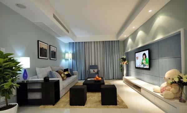 88平米现代简约风格案例 雅致舒适的住宅
