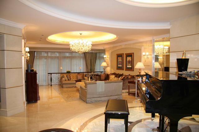 90w打造250平欧式风格 奢华大气高端的温馨家居